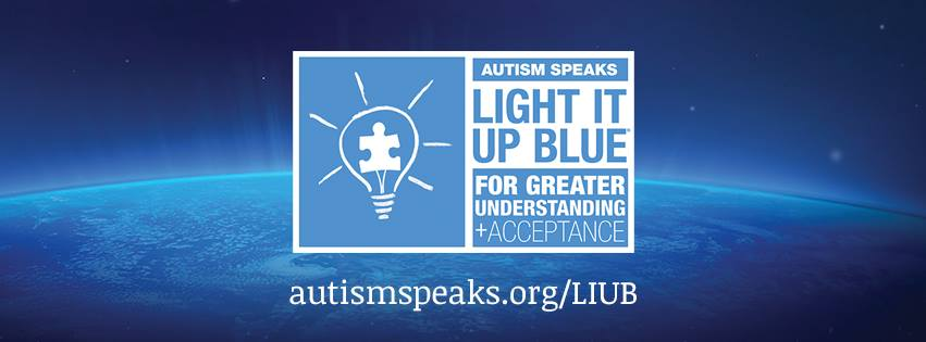 Autism Awareness #LightItUpBlue for Understanding and Acceptance