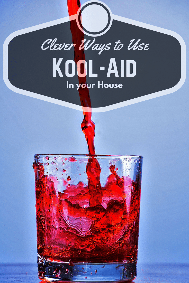 Find out what you can do with those old packets of Kool-Aid up in your cupboard with these clever ways to use Kool-Aid in your house.
