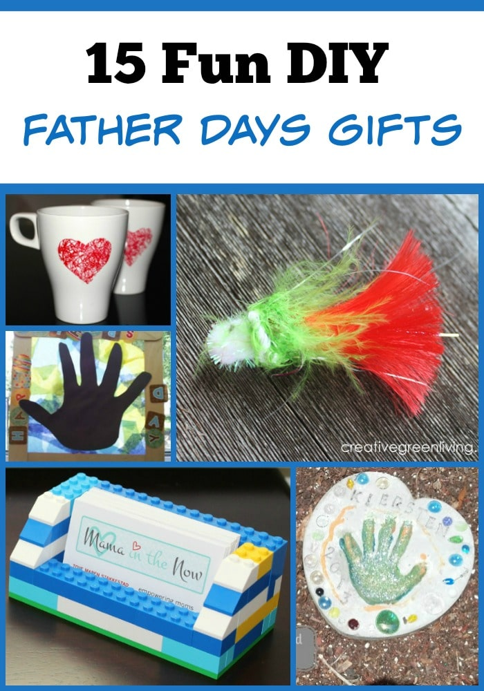 15 Fun DIY Father's Day Gift Ideas