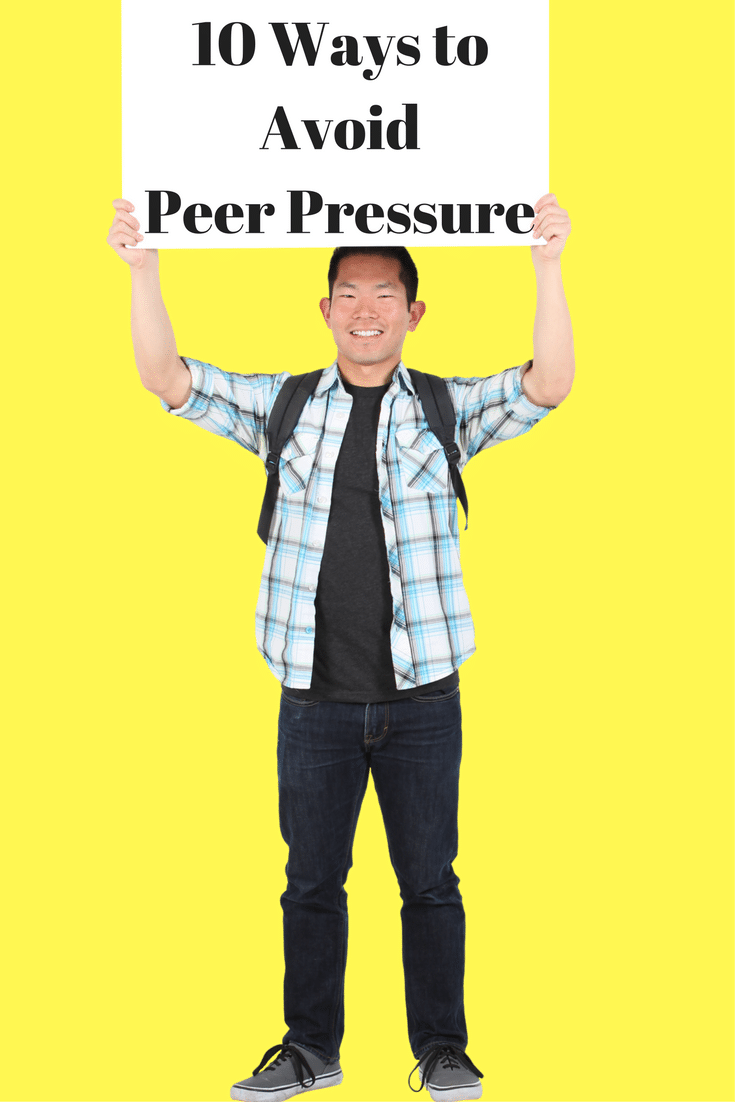 """Ever heard anyone say, """"just say no""""? Well, it's not as easy as it seems. Peer pressure is everywhere and affects most kids at least once in their lifetime."""