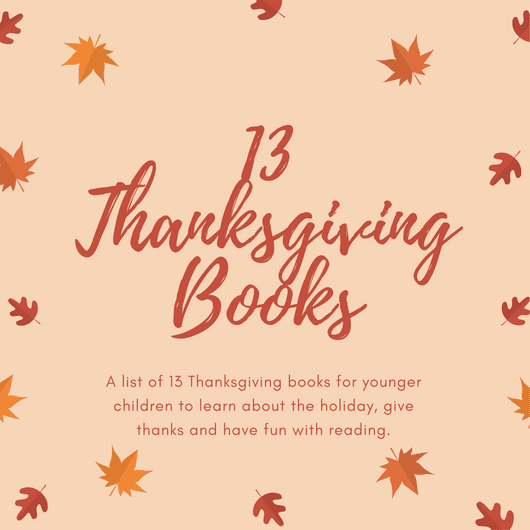 Great big list of Thanksgiving books for little children to add to your home library collection. Many book options to choose from this holiday season.