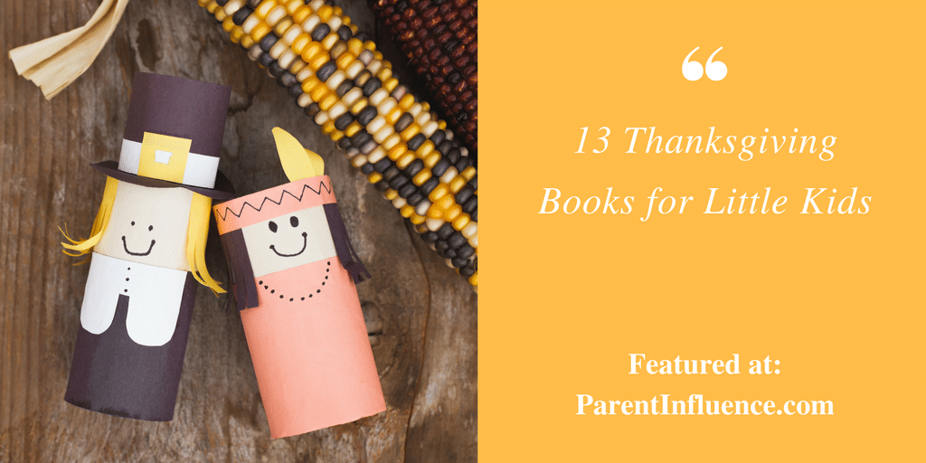 13 Thanksgiving Books for Children