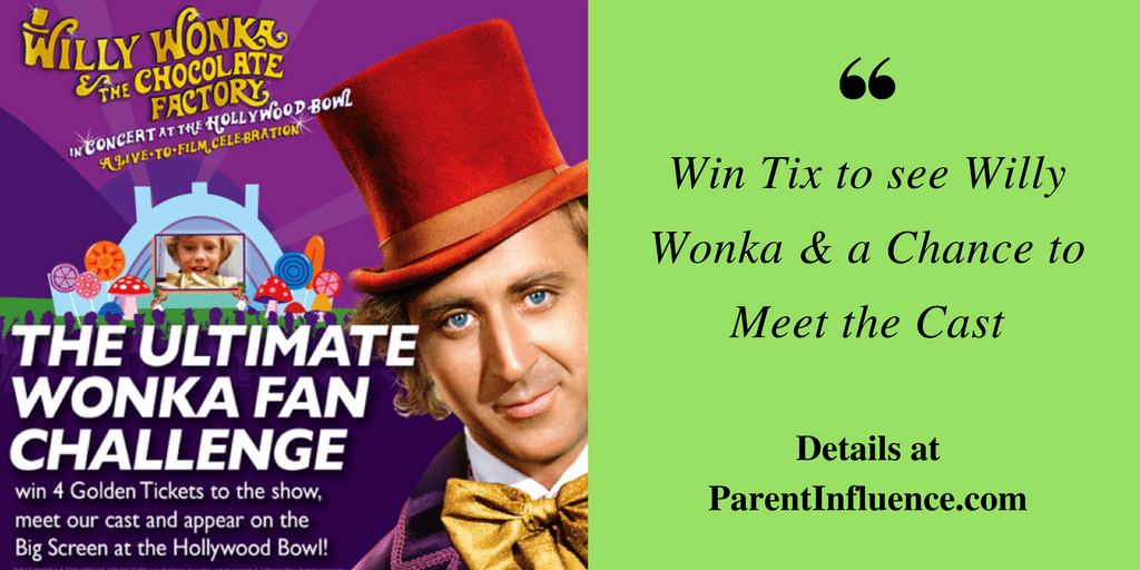 Win Tix to see Willy Wonka & a Chance to Meet the Cast #willywonkabowl
