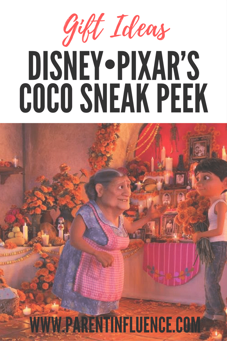 Check out these clips from Disney Pixar Coco, in theaters everywhere. Also the ultimate gift guide for Coco products. A must see list of books and more!