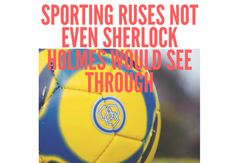 Sporting Ruses Not Even Sherlock Holmes Would See Through