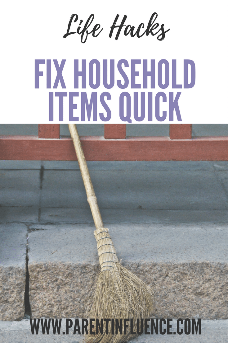 4 Household Items That Can Be Fixed Surprisingly Quickly