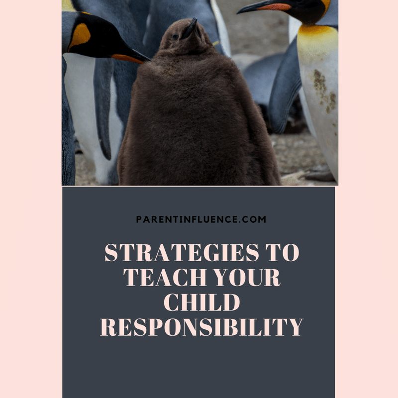 Strategies To Teach Your Child Responsibility