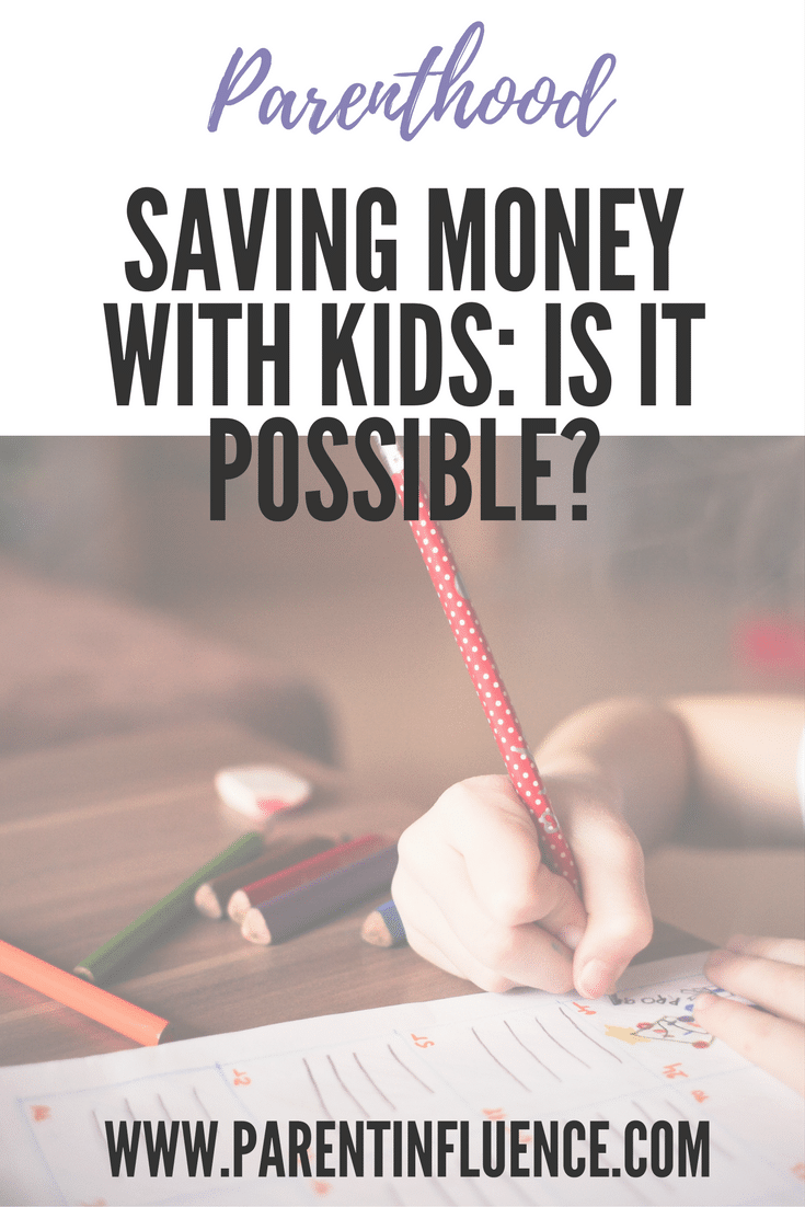 Saving Money with Kids