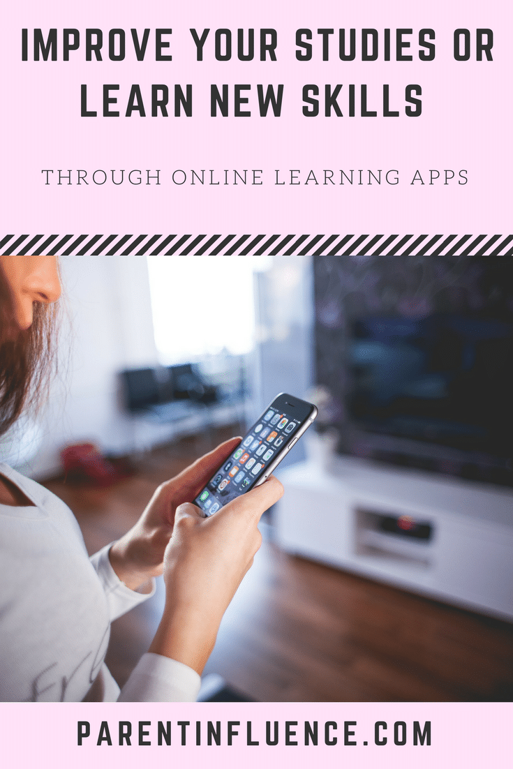 Improve your studies or learn new skills through online learning apps