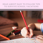 Tips to Juggle School Break and Work at Home