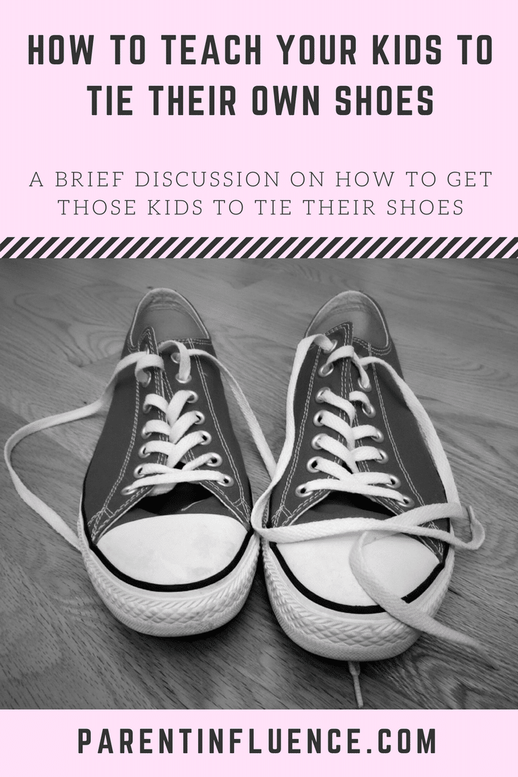 Just a few little tips on how to get your kids to tie their own shoes and a hack to get around this whole shoelace tying deal.