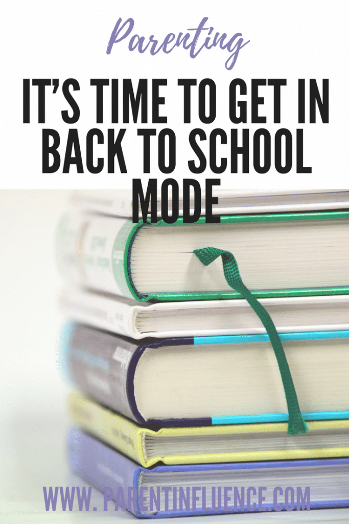 It's Time to Get in Back to School Mode