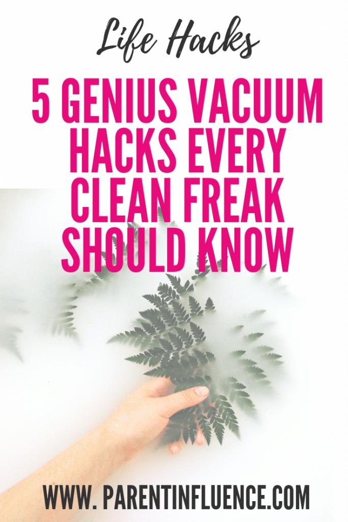 5 Genius Vacuum Hacks Every Clean Freak Should Know