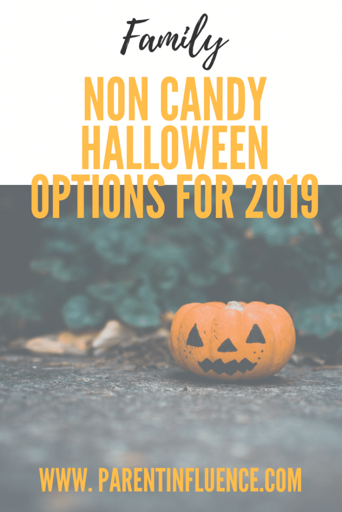 Non Candy Halloween Options for 2019