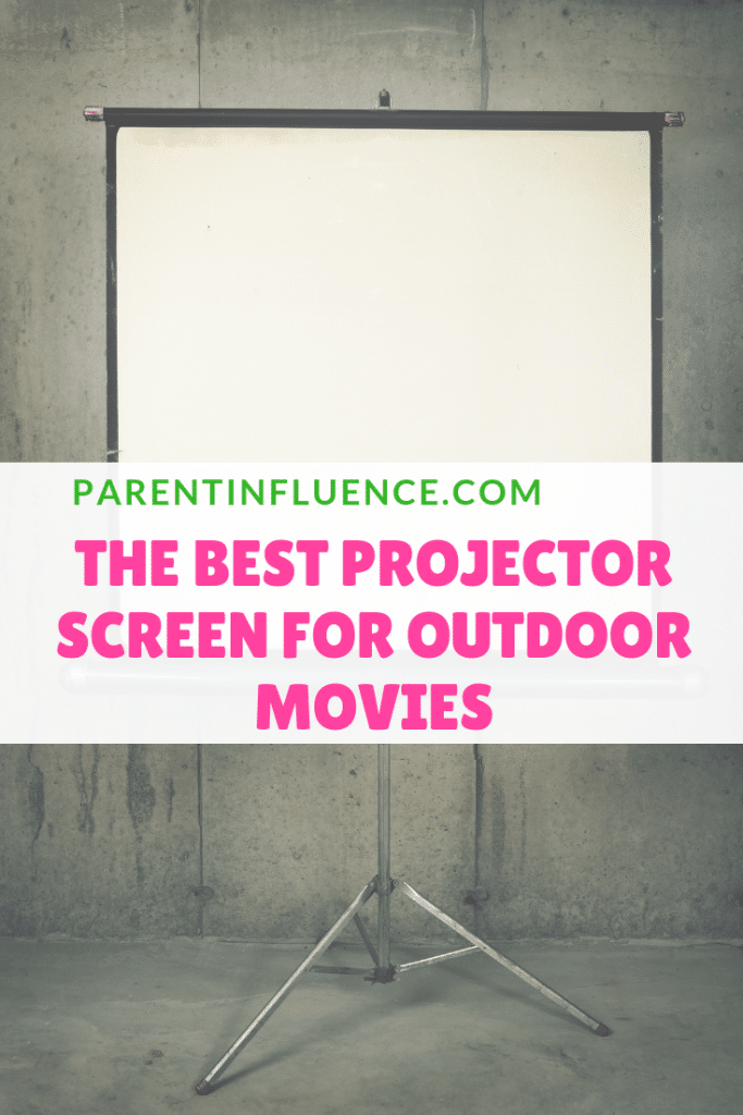 The Best Projector Screen for Outdoor Movies