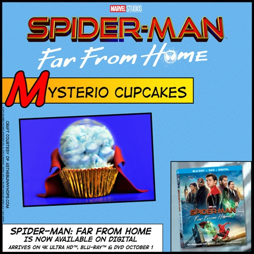 Spider-Man Far From Home Mysterio Cupcakes