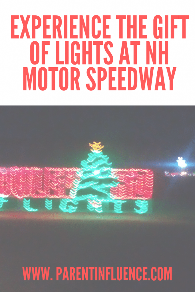 Experience The Gift of Lights at NH Motor Speedway