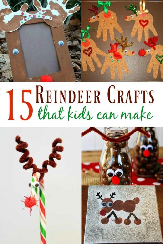15 Reindeer Crafts for Kids