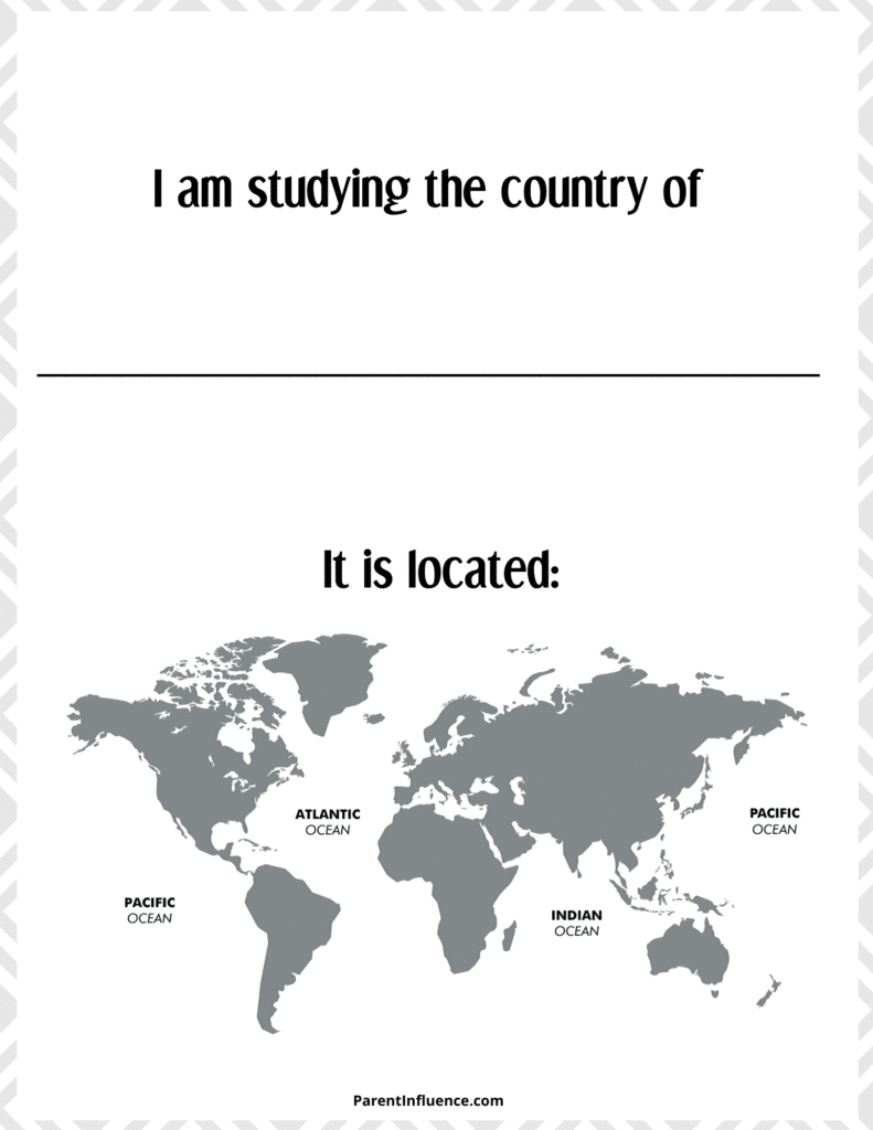 free homeschool social studies printable